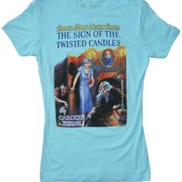 Nancy Drew book cover t-shirt | Outofprintclothing.com