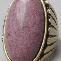 The Burnished Gold Pastel Stone Ring in Purple : *Accessories Boutique : karmaloop.com - Global Concrete Culture