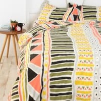 Bauhaus Striped Duvet Cover