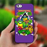 Teenage Mutant Ninja Turtles - PC049 - Print on Hard Cover - For iPhone 4 / 4S Case - iPhone 5 Case - Black, White, and Clear