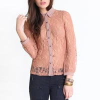 Chase The Sun Lace Blouse 