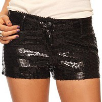 Sequined Shorts | FOREVER 21 - 2008585338
