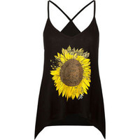 O&#x27;NEILL Sunflower Womens Tank 212051100 | Graphic Tees &amp; Tanks | Tillys.com
