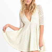 Polly Lace Dress by Jarlo - &amp;#36;99.00 