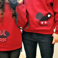 Mickey & Minnie Couple Sweaters