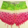 Levi's Original Vintage denim shorts in WATERMELON