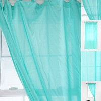 UrbanOutfitters.com > Tie-Top Voile Curtain