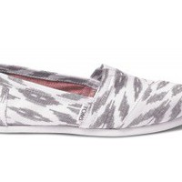 Grey Ikat Women&#x27;s Vegan Classics | TOMS.com