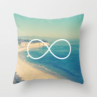 Forever Summer California Infinity Throw Pillow by RexLambo | Society6