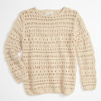 Peek 'Flax' Sweater (Toddler, Little Girls & Big Girls) | Nordstrom