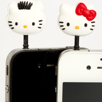 Kitty Couple Phone Ear Cap