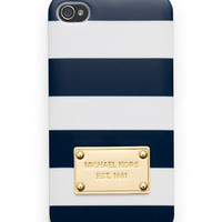 MICHAEL Michael Kors  Striped iPhone Cover - Michael Kors