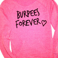 Burpees Forever Sweatshirt // Workout Clothing // Abundant Heart Apparel