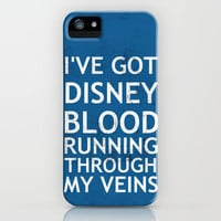 Disney Blood iPhone Case by Chase Shields | Society6