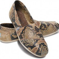 TOMS+ Serpentine Leather Women's Classics | TOMS.com