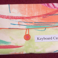 Gadget CaseWireless Keyboard Case/Sleeve by UniquesewingBoutique