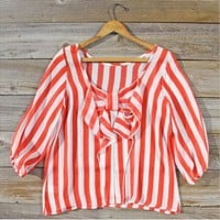 Sand & Sea Blouse in Watermelon