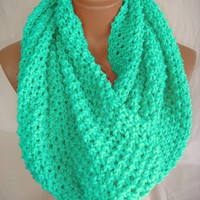 mint scarf by arzusstyle