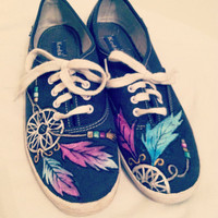 Dream Catcher Keds by taylorshandmadegifts on Etsy