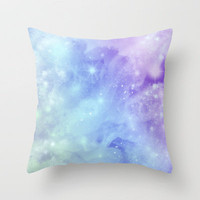 Galaxy 2  Throw Pillow by Ciby | Society6