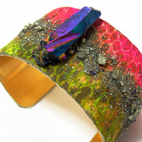 The Stardust Cuff by nubambu on Etsy