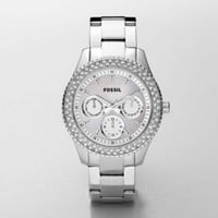 FOSSIL Watch Styles Boyfriend :Womens Stella Stainless Steel Watch ES2860
