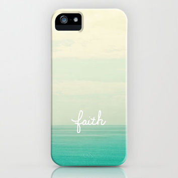 faith iPhone Case by Lisa Argyropoulos | Society6