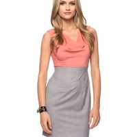 Contrast Sheath Dress | FOREVER21 - 2011408634
