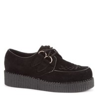 New Look Mobile | Black Loiter Brothel Creepers