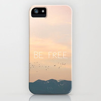 Be Free iPhone Case by Kurt Rahn | Society6