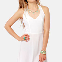 Your Doily Horoscope Crocheted Ivory Dress
