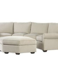 One Kings Lane - Made in America - Sedgewick Sectional & Ottoman