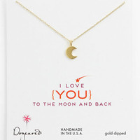 Dogeared &#x27;To the Moon &amp; Back&#x27; Pendant Necklace | Nordstrom
