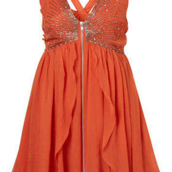 Scatter Beaded Babydoll Dress By Dress Up Topshop** - Dresses  Rompers - Sale  - SALE - Topshop USA