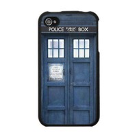 Funny Police Phone Box Iphone 4 Skins from Zazzle.com