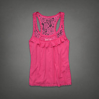 Abercrombie & Fitch Women Harper Fashion Top Tank with moose logo