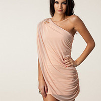 One Shoulder Drape Dress, Oneness