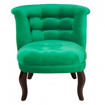 Velvet Tub Chair | Oliver Bonas