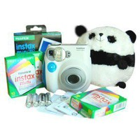 Fujifilm Instax Mini-7s blau Sofortbild-Kamera mit 30 Filmen (dce113) - US&amp;#36;107.25