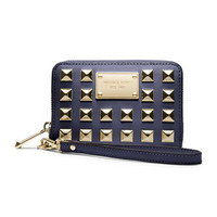 MICHAEL Michael Kors  Pyramid-Stud Multifunction Phone Case, iPhone 5, 4s & 4 - Michael Kors