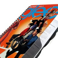 Glee Up-Cycled 2012 Calendar / Daily Planner