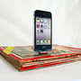 iPhone and iPod magazine dock  Great gift for tech by NineTDesigns