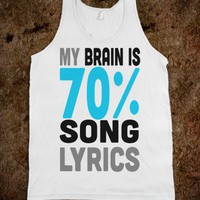 My Brain is 70% Song Lyrics (Tank) - Lovin' Life