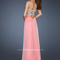 La Femme Dress 18645 at Peaches Boutique