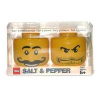 Lego Mini-figure Salt and Pepper Set