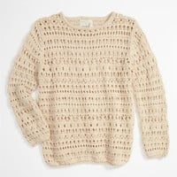 Peek &#x27;Flax&#x27; Sweater (Toddler, Little Girls &amp; Big Girls) | Nordstrom