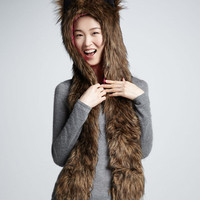 NEW DESIGNER SKAIST TAYLOR FUZZY EAR HAT FOR WOMEN LIMITED EDITION