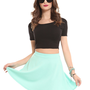 Skater Skirt - Mint - Bottoms - Clothes | GYPSY WARRIOR