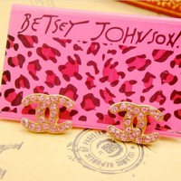 New Betsey Johnson Stud ...