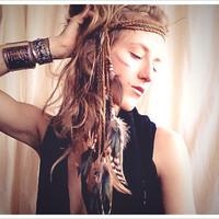 cascada a tribal headdress by RunWithTheTribe on Etsy